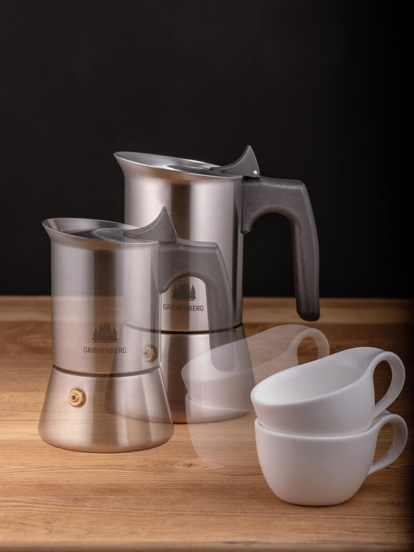 Produktaufnahme Gronenberg Espressokocher